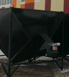 Бункеры по 9 м.куб. выносные