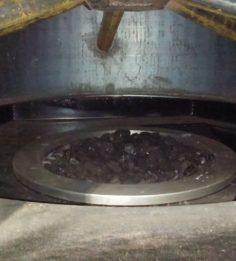 Розжиг угля (стадия 1)