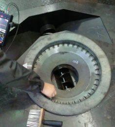 Проверка литья дефектоскопом