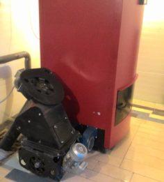 Котел 120 кВт с питателем нижней загрузки